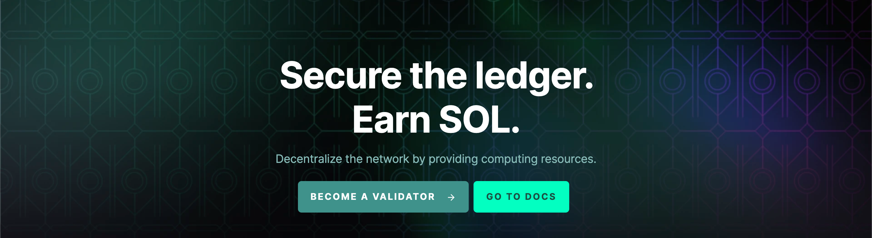 Solana SOL - Become a validator
