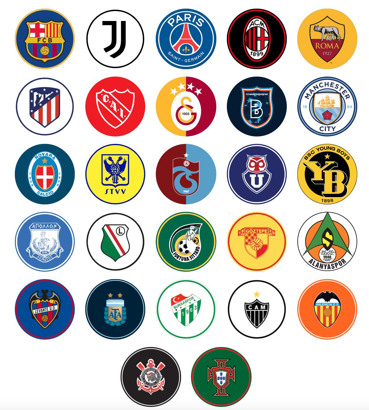 Chiliz CHZ Soccer club token