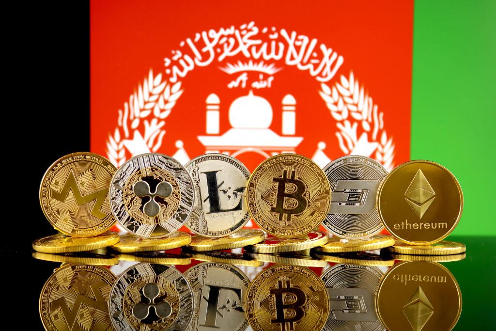 Cryptomunten als donatie in Afghanistan