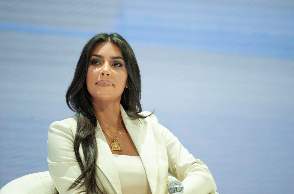 Kim Kardashian as a crypto advisor